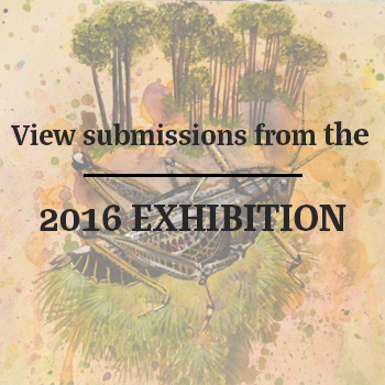 Grasshopper art and text View submissions from the 2016 exhibition